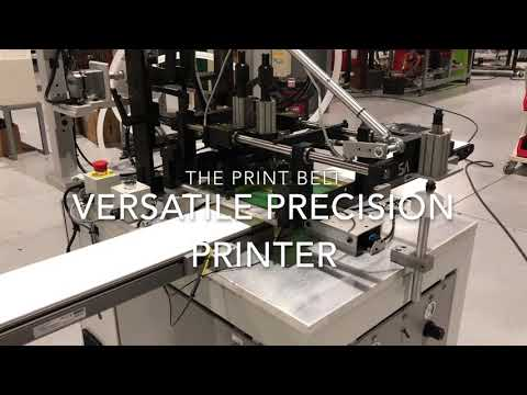 Model PRINT Belt - Screen Printing Cookies
