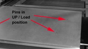 automatic pin registration
