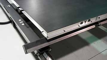 sliding vacuum tables